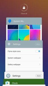 Meizu Pro 6 recent apps 300x533 169x300 گوشی موبایل میزو مدل Pro 6 نسخه 32 گیگابایت دو سیم کارت