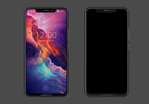 phone 1 300x209 یومی دیجی Z2 گوشی بدون حاشیه شبیه به آیفون X
