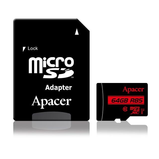 کارت حافظه ۶۴ گیگابایت Apacer کلاس ۱۰