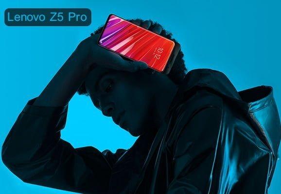 بنر تخفیف گوشی lenovo z5 pro