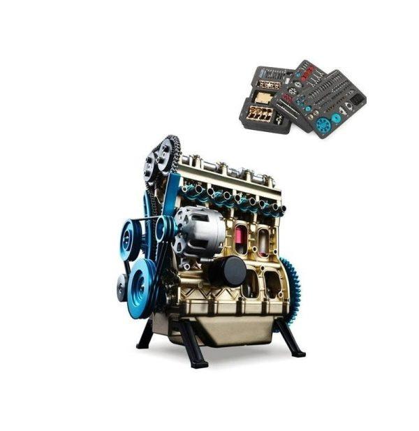 موتور آموزشی 4 سیلندر teching