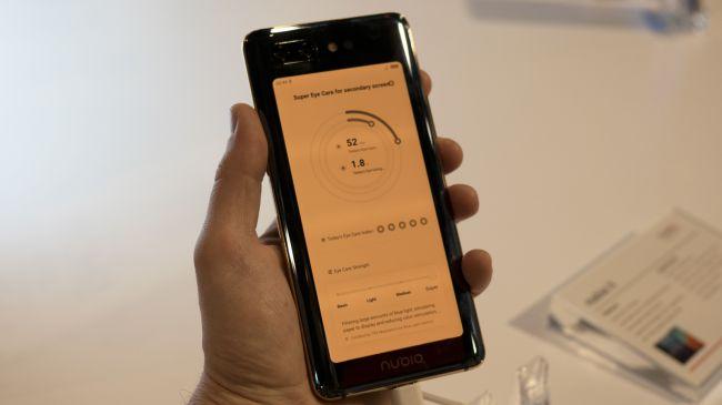 گوشی موبایل zte nubia x