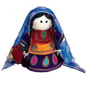 عروسک روسی پته دوزی و سوزن دوزی