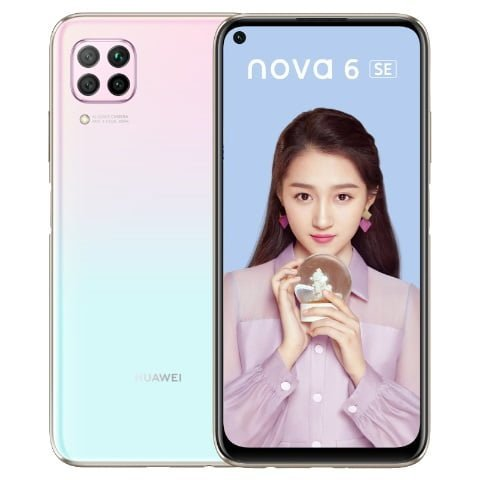 گوشی موبایل هواوی Nova 6 SE